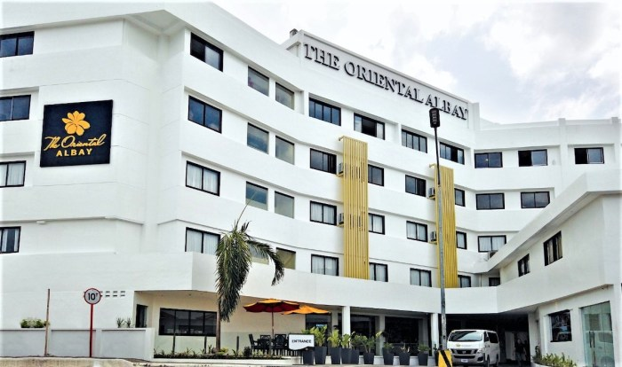 The Oriental Albay - Luxe hotel group opens up to medical frontliners