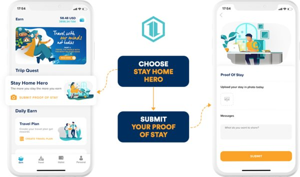 """Sustainable Travel Company Triip Launches Points Rewards System """"Stay Home Heroes"""" to Support the World's Homebound Travelers"""