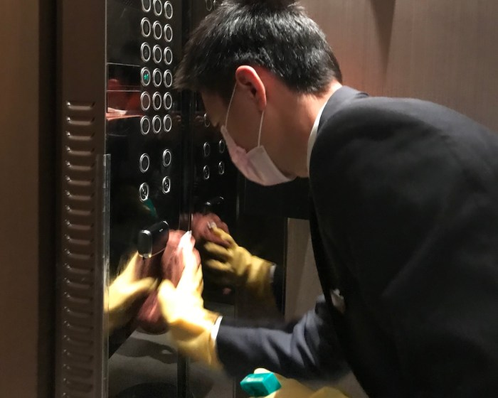 Through its newly launched 'Ascott Cares' commitment, Ascott will increase disinfection and cleaning frequencies of the lifts and their destination control panels.  Antimicrobial coatings and effective disinfection technology will also be applied in the lifts where possible to enhance safety.