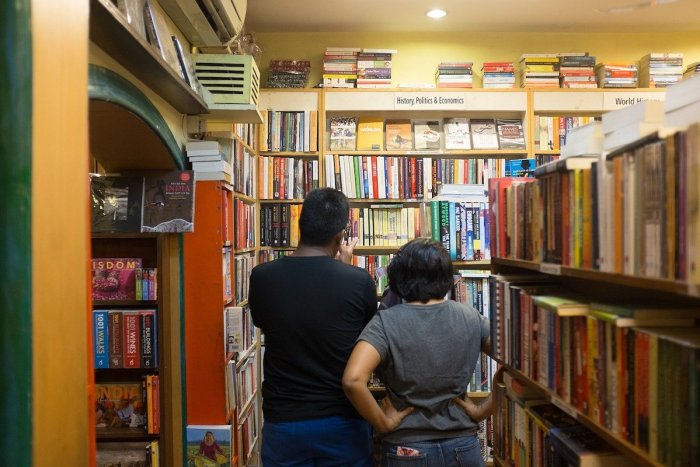 Bookstore in Khan Market