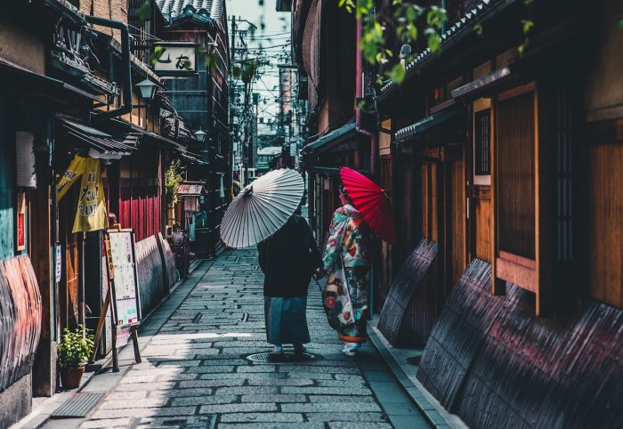 Kyoto Japan by Andre Benz via unsplash