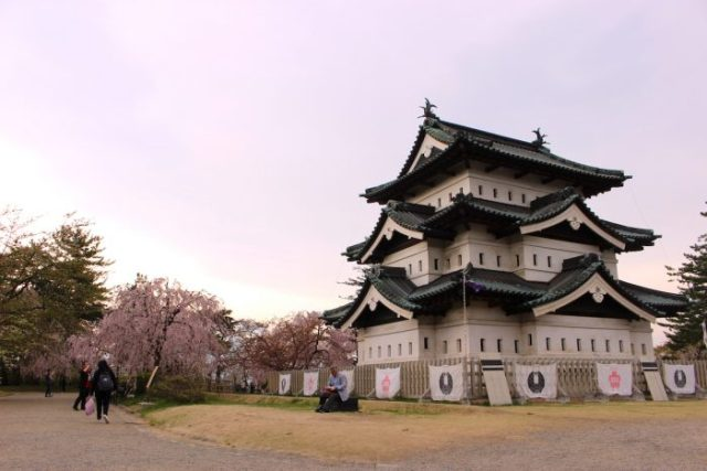 Things to Do and See in Hirosaki Castle and Park in Aomori, Japan