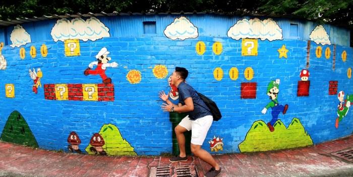 A huge dedication to Super Mario