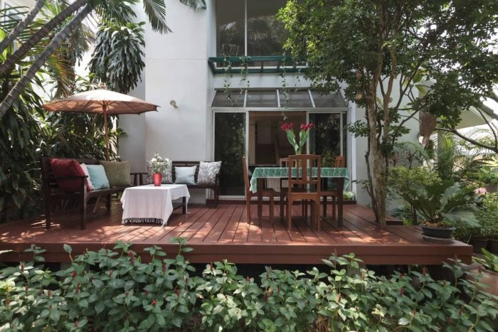 Airbnb with a Garden in Bangkok