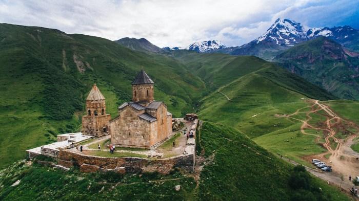 Best Places To Visit in Georgia - Old Castle photo via Depositphotos.com