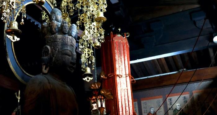 Temple gardien de Kinosaki Onsen