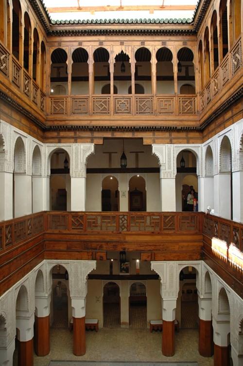 Nejjarine Museum of Wooden Arts and Crafts by Josep Renalias via Wikipedia CC