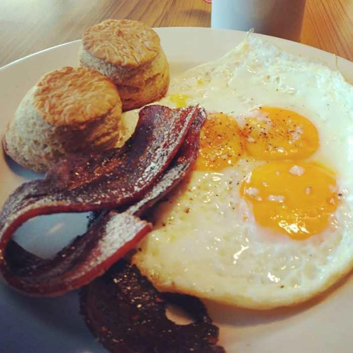 OZARK Diner Breakfast photo via FB page