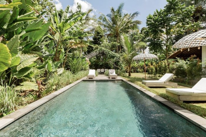Airbnb in Ubud with Swimming Pool and Garden