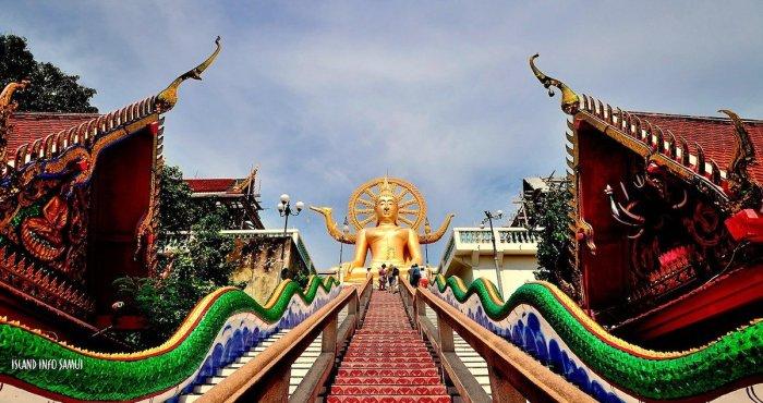 Big Buddha in Koh Samui