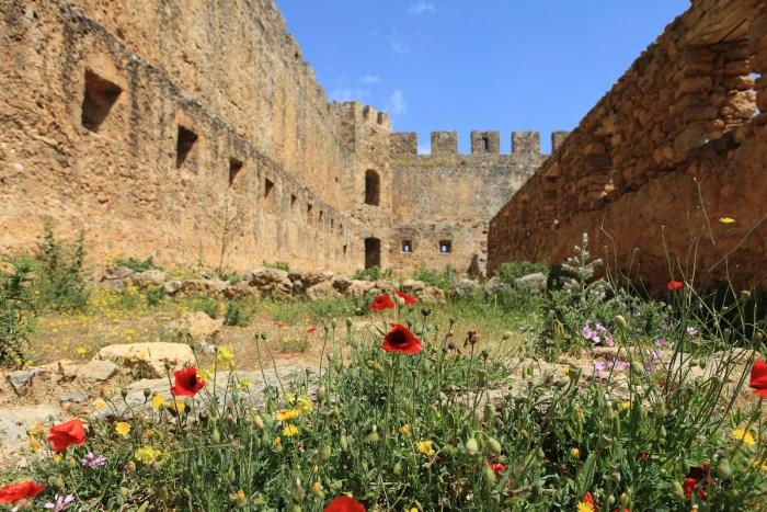 Frangokastello fortress in Crete photo via Depositphotos