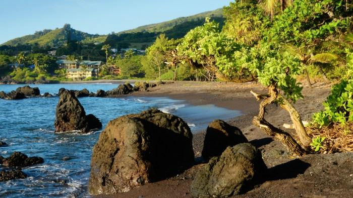 Hana Village in Maui photo via Depositphotos