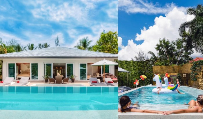 Luxury vacation rental in Phuket with swimming pool