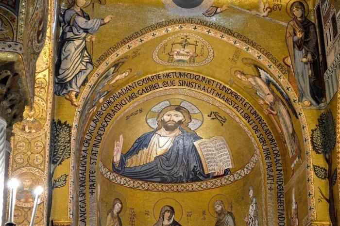 Chapelle Palatine en Sicile
