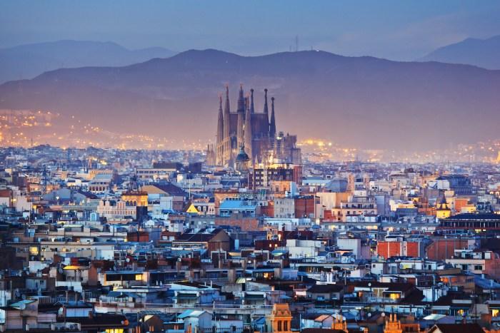 Sagrada Familia photo via Depositphotos.com