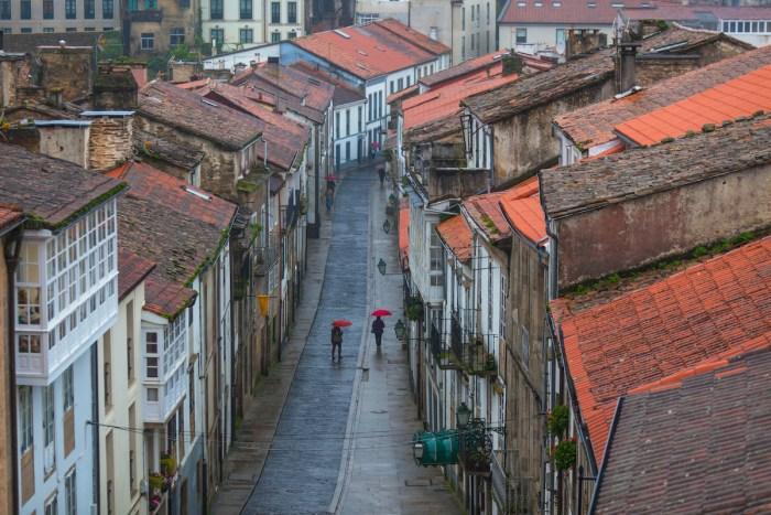 Santiago de Compostela Old Town via Depositphotos