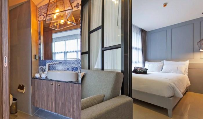Stylish apartment Airbnb rental in Phuket walking distance to Surin