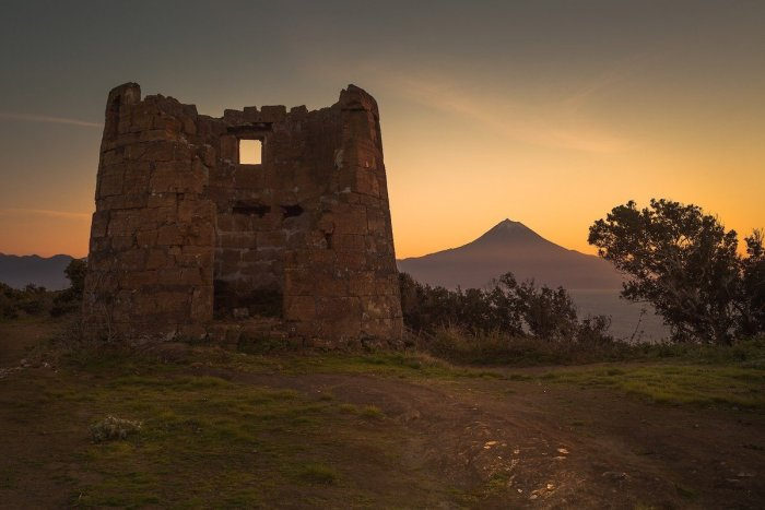 Sunset in Pico Island Azores