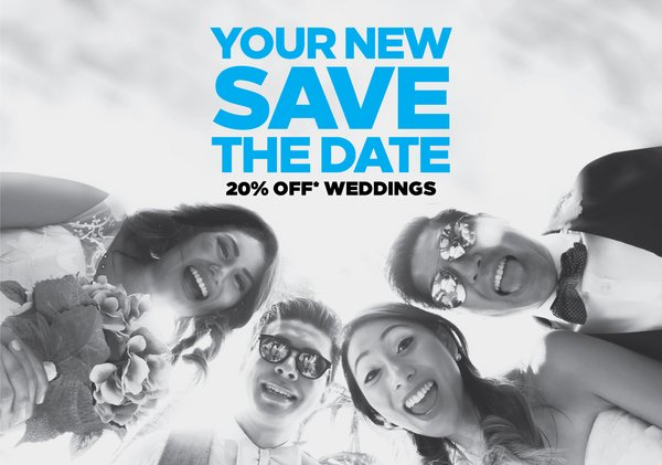 Enjoy New Save the Date with Hilton