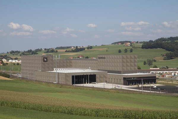 Nespresso Romont production center in Switzerland