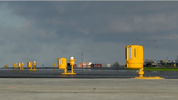 Xsight Systems' sensors deployed along the runway