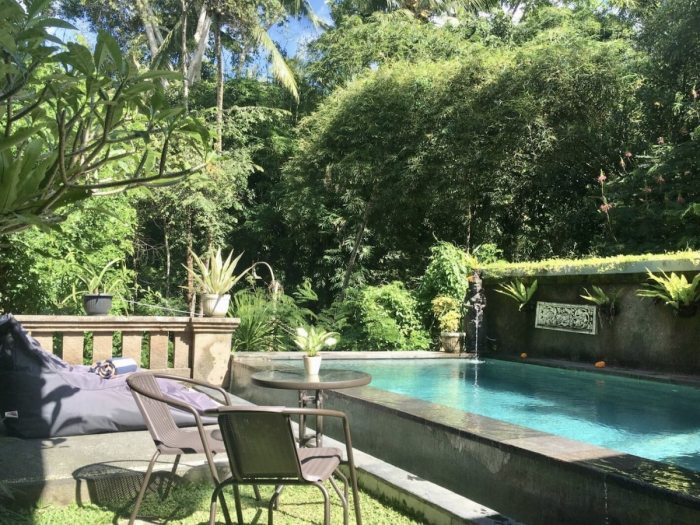 3 bedroom villa with private pool in Ubud area