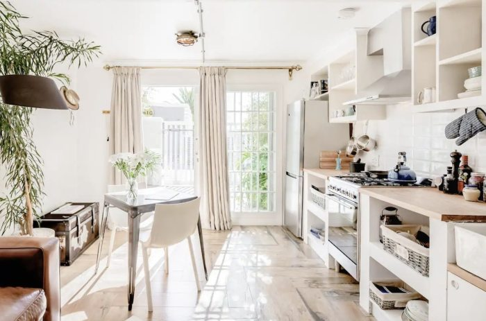 Cape Town Airbnb Plus with a Bright, Airy Space, and Rustic Accents