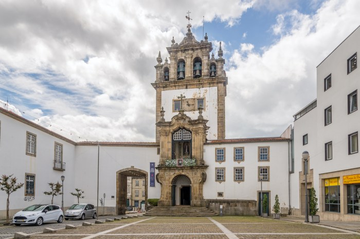 Capela da Nossa Senhora da Torre in Braga Portugal via Deposit Photos