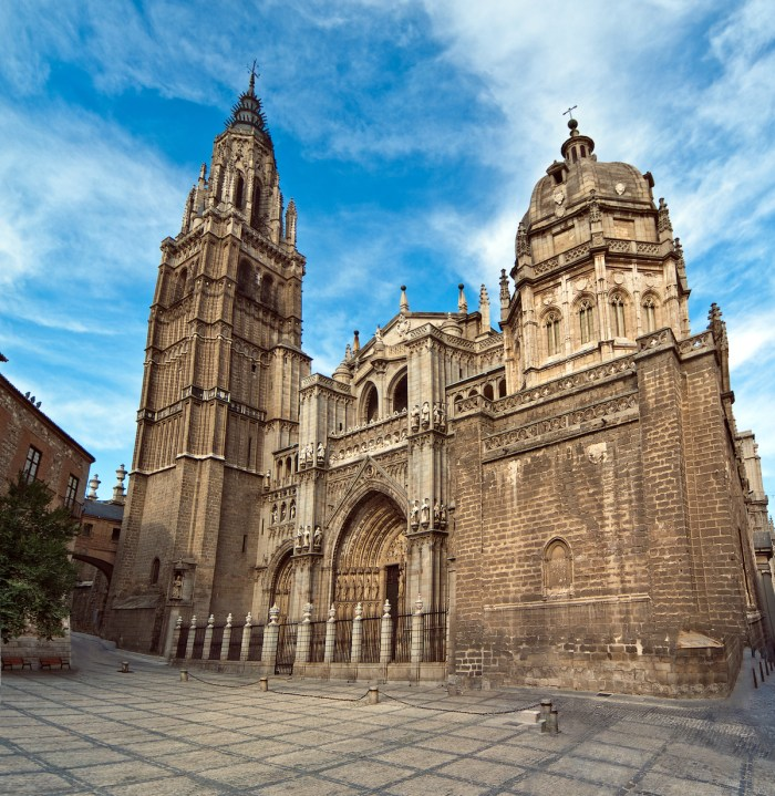 Cathedral in Toledo Spain photo via DepositPhotos