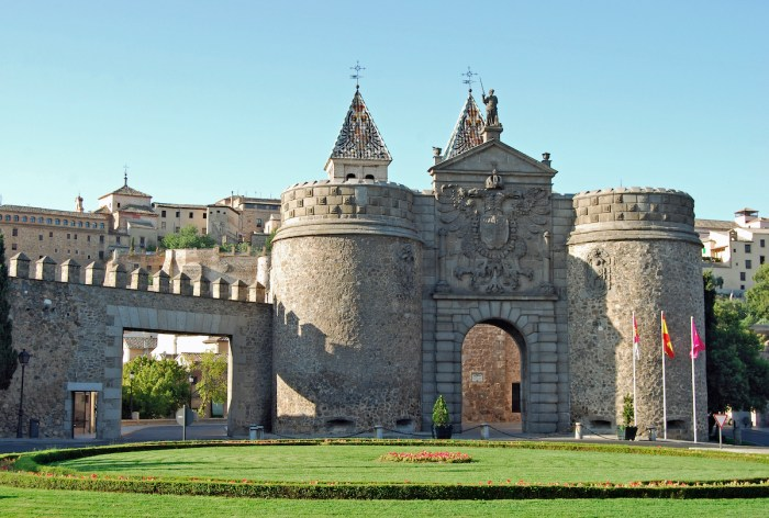City Walls of Toledo photo via Depositphotos