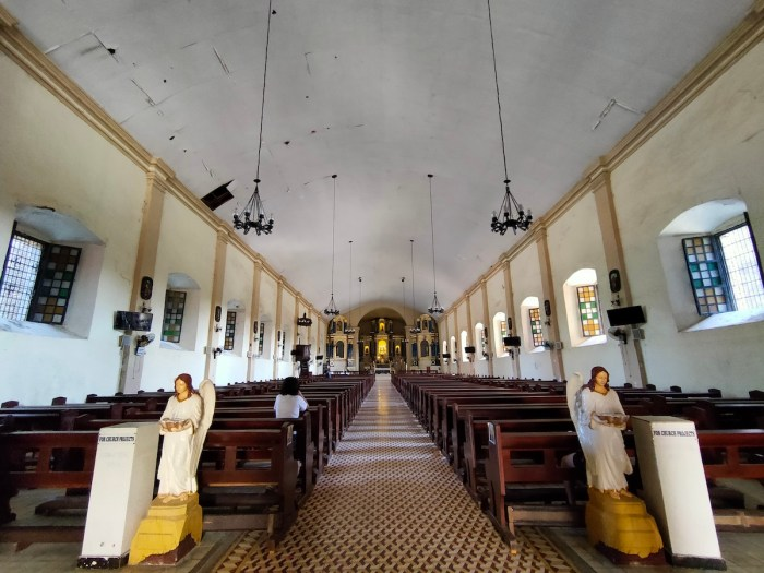 Interior of Santa Maria Church UNESCO
