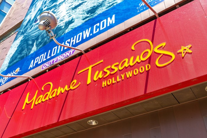 Madame Tussauds - Hollywood Wax Museum on the Walk of Fame in Los Angeles, California, USA via Depositphotos