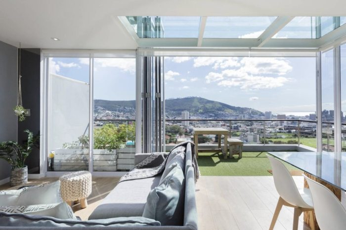 Modern, Chic Airbnb Plus Penthouse with Mountain, City, and Sea Views