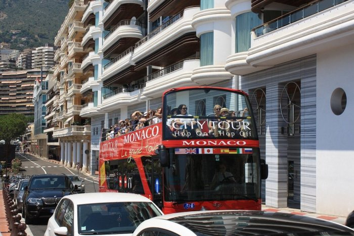 Monaco City Tour Bus