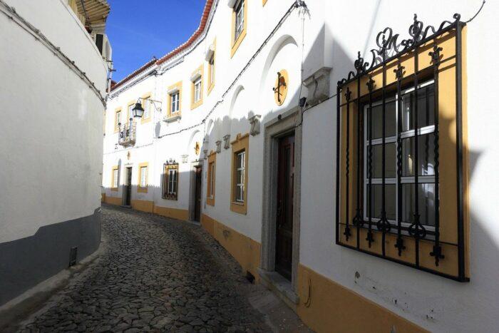 Narrow Streets of Evora