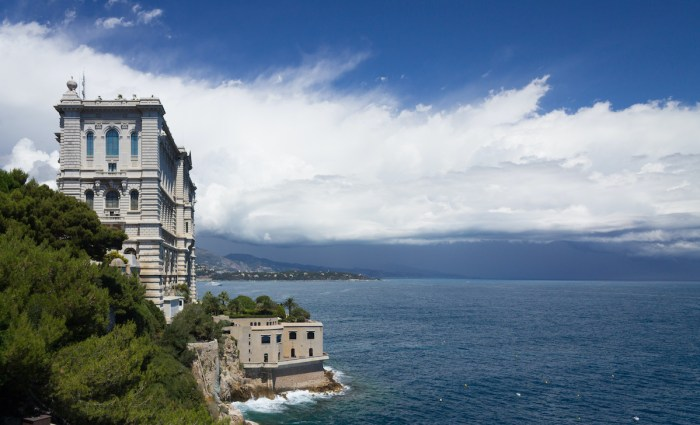 Oceanographic Museum of Monaco by Steinmeier Stevanov via Wikipedia CC