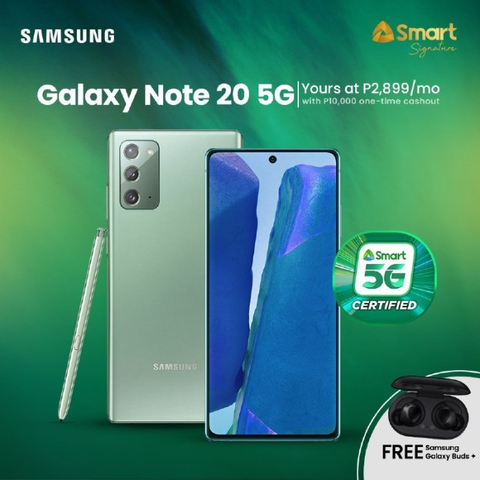 Smart Note20 5G