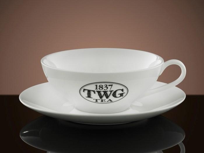 TWG Tea Afternoon Teacup & Saucer, P2,495