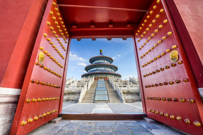Temple of Heaven photo via DepositPhotos