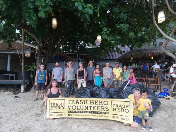 Trash Hero Koh Lanta photo via Facebook Page