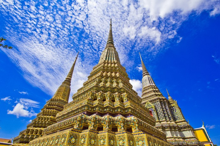 Wat Pho, Bangkok photo via DepositPhotos