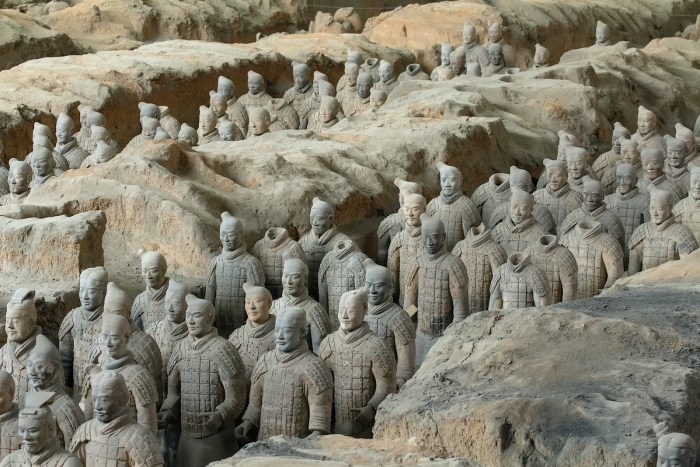 Xi'an Terracotta Army photo via Depositphotos