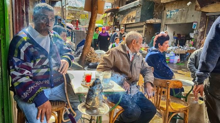 Khan el-Khalili Market in Cairo via Depositphotos