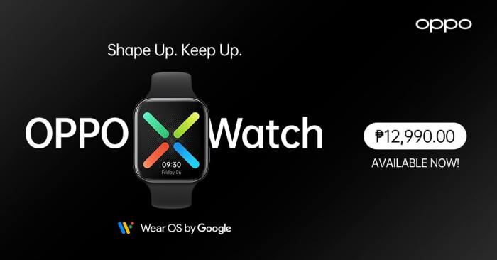 OPPO Watch 41mm Availability and Price in the Philippines