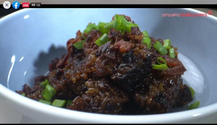 Delectable Claypot Rice that's made easier to cook at home thanks to Chef Ming Tan's Claypot Rice Food Kit.