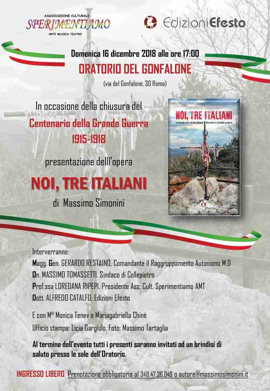 Noi, tre italiani, Locandina Gonfalone.jpg