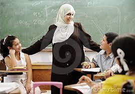 Muslim teacher