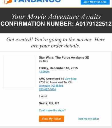R12 18 12-30 Movie tickets