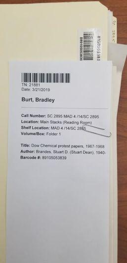 Brandes File