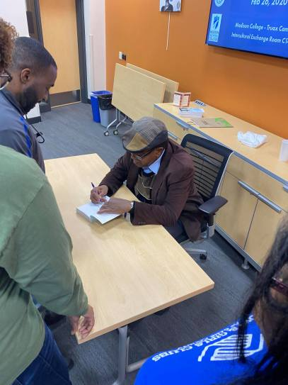 Bobby Seale Hat Autograph